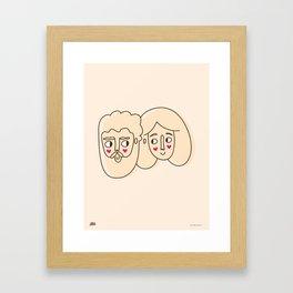 The motilon´s Framed Art Print