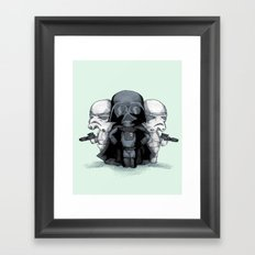 Come To The Plush Side Framed Art Print