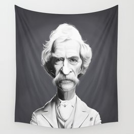 Mark Twain Wall Tapestry