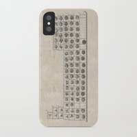 periodic table iPhone & iPod Cases featuring Periodic table by Florian Pasquier