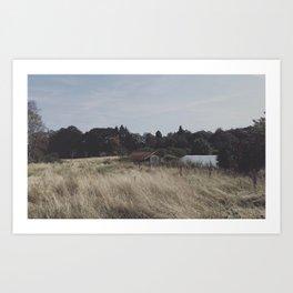 Little house on the prairie Art Print