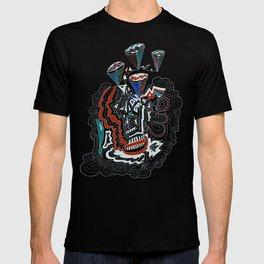 Maze Cones (dark) T-shirt