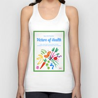 health Tank Tops featuring Picture of Health by ColorisBrave
