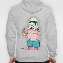 Trooper White Hoody