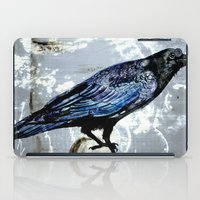 raven iPad Cases featuring Raven by Dominique Gwerder