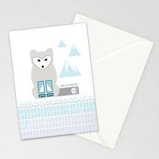 Kettu the Arctic Fox Stationery Cards