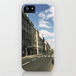 Sunny Day in Le Marais iPhone Case