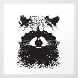 Trash Panda Art Print