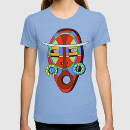 Indian's mask T-shirt