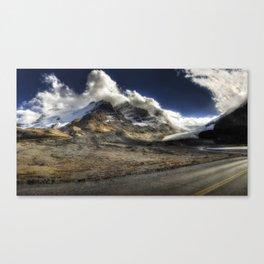 Glacier Expressif Canvas Print