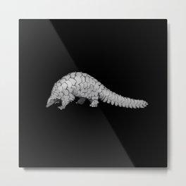 Endangered Animals - Pangolin Metal Print