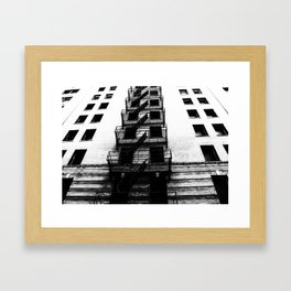 escape. Framed Art Print