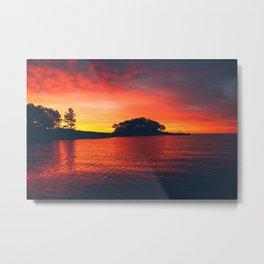 New England Sunrise Metal Print