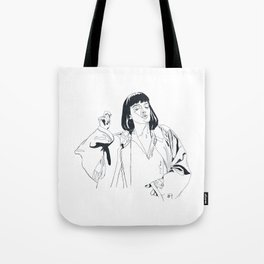 i fucking love this song Tote Bag