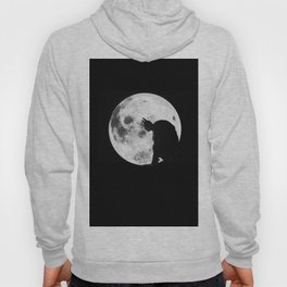The Bat in the Pale Moonlight Hoody