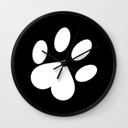 Paw love Wall Clock