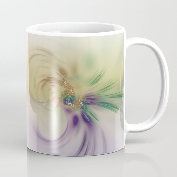 Fall Festive Fractal Coffee Mug