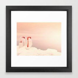 Heaven on Ice Framed Art Print