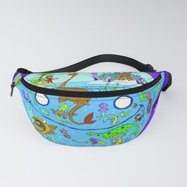 The World Within can be a Crowded Place Fanny Pack