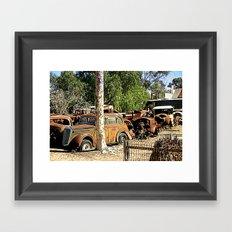 The Graveyard Framed Art Print