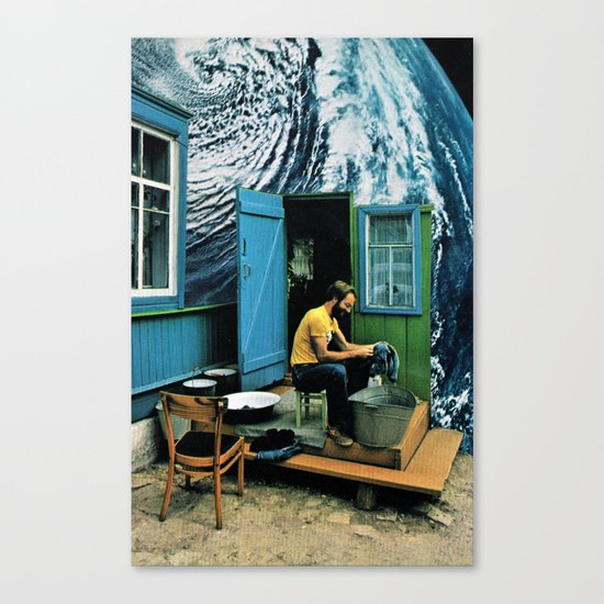 Some Dreams Come True... ( Younger ) Canvas Print