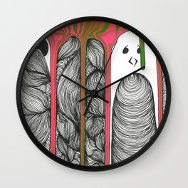 Drippy Personality  Wall Clock