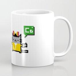 Breaking Cat Coffee Mug