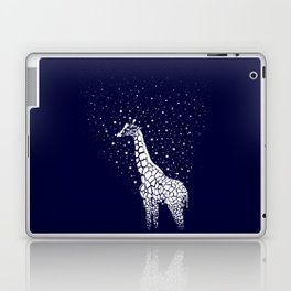 Hollow-Albino Giraffe Laptop & iPad Skin