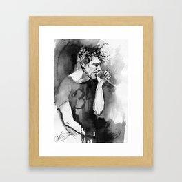 number 34 Framed Art Print