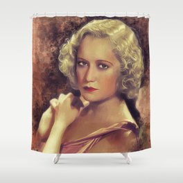 Miriam Hopkins, Vintage Actress Shower Curtain