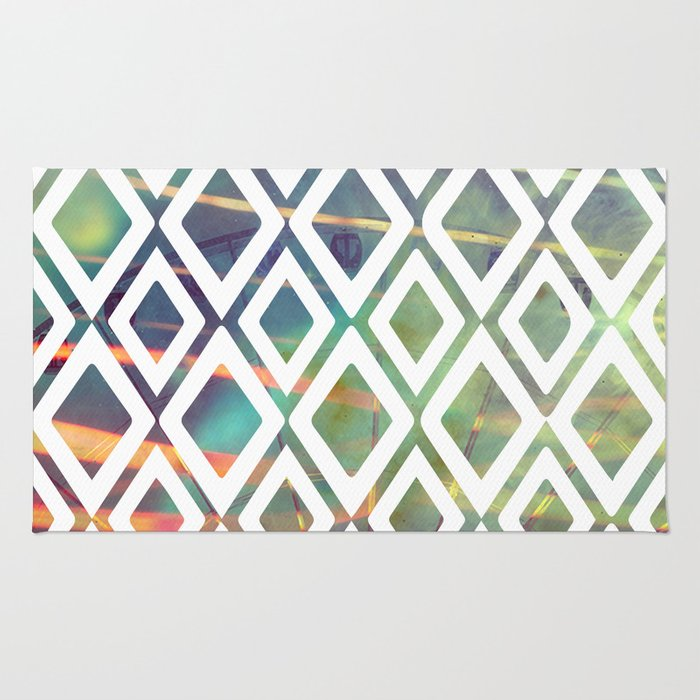 Noria and geometric forms Rug