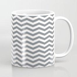 Chevron Navy Coffee Mug