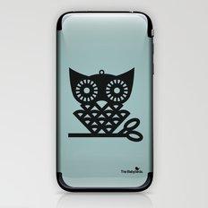 Blue Hoot iPhone & iPod Skin