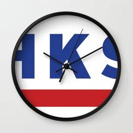 HKS Wall Clock