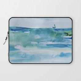 Miami Beach Watercolor #1 Laptop Sleeve