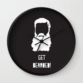 Get Bearded Wall Clock