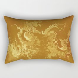 Dragon fire abstract Rectangular Pillow