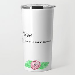 Nelipot - Definition Print Travel Mug