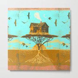 TREEHOUSE ROOTS Metal Print
