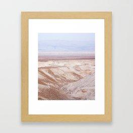 Dead Sea - Long Framed Art Print