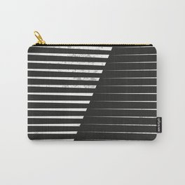 Black vs. White Carry-All Pouch