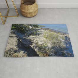 Beach Erosion and Joseph Fay shipwreck Rug