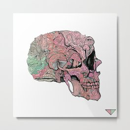 life in cycles Metal Print