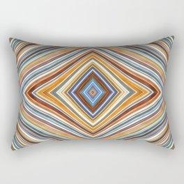 Wild Wavy Diamonds 10 Rectangular Pillow