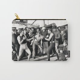Boxing on a Naval Ship, 1899 Carry-All Pouch