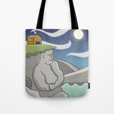 At Home By the Sea Tote Bag