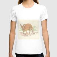 kangaroo T-shirts featuring Kangaroo. by Mariel Castro