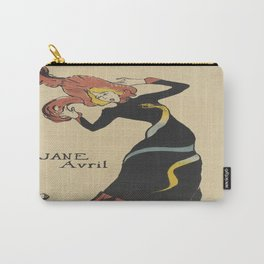 Vintage poster - Jane Avril Carry-All Pouch