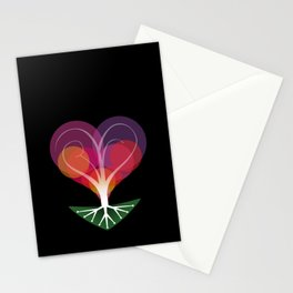 Tree of Love II Stationery Cards