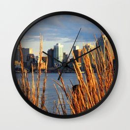 Skyline of Halifax, Nova Scotia Wall Clock
